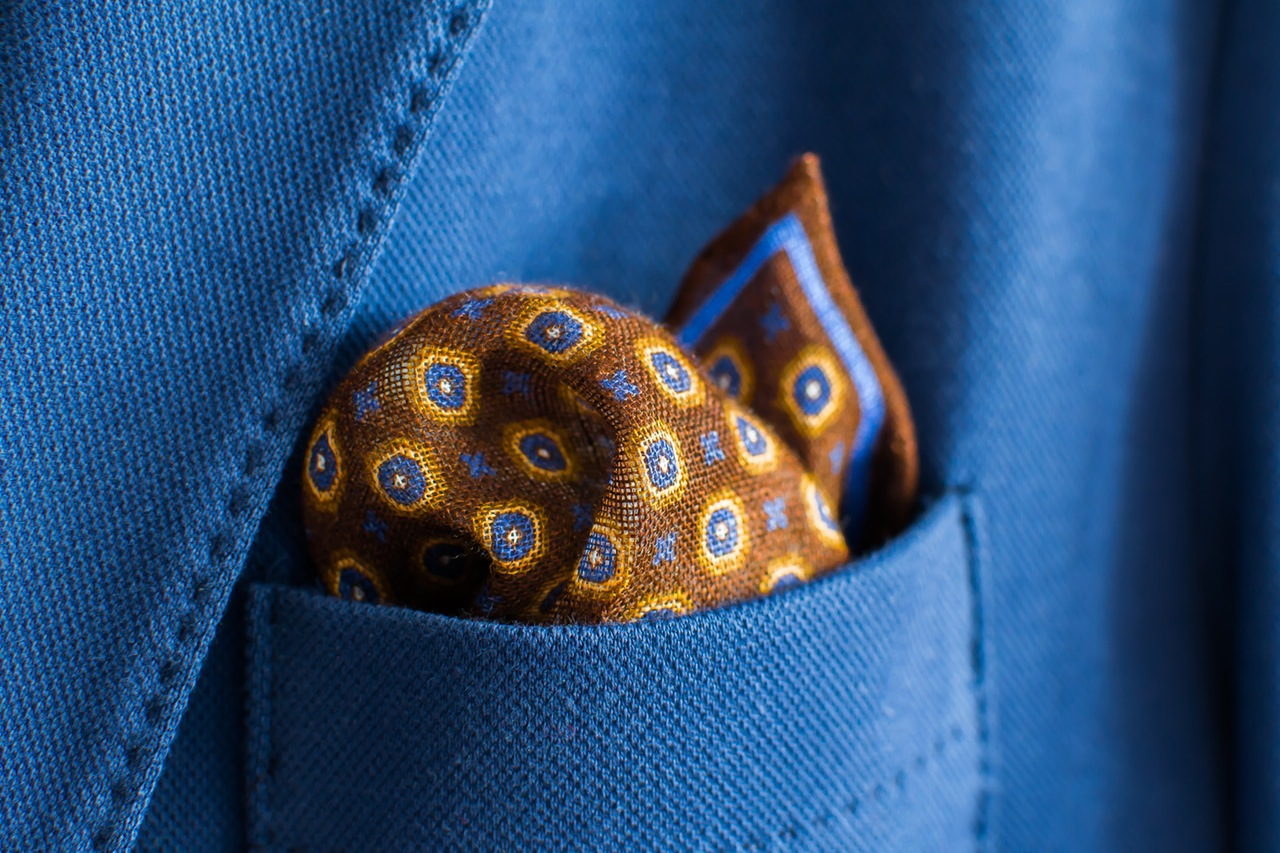 Messy Pocket Square
