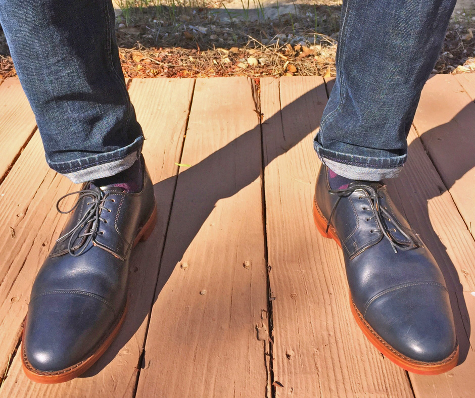 Oak Street Cap Toe Oxfords