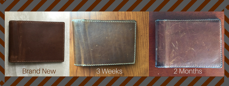how nomad wallets wear over time