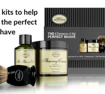 Unscented shaving kit by The Art of Shaving
