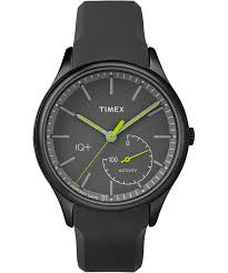 timex iq mens watch rubber